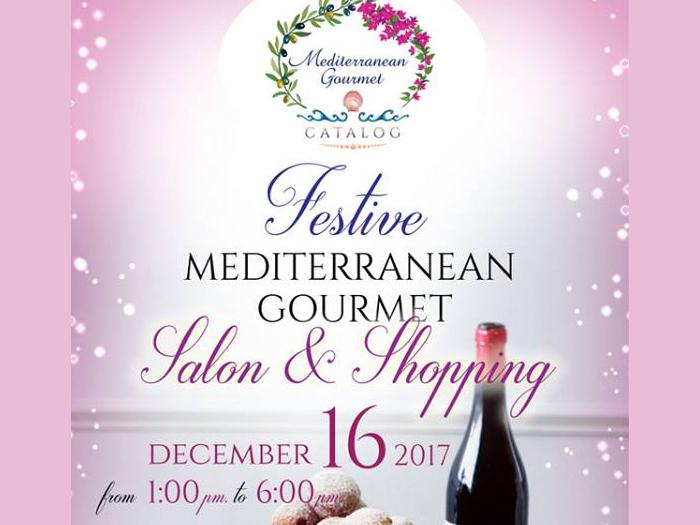 Festive Mediterranean Gourmet Salon