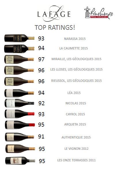тличия червени вина Lafage