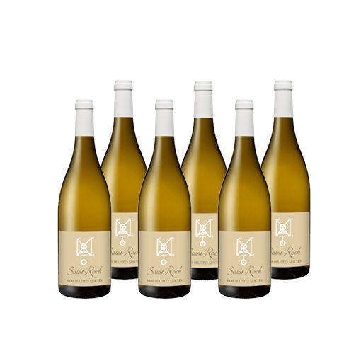 Бяло вино Sans Sulfites Blanc - 6 броя