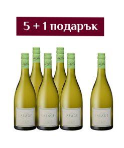 Бяло вино Côté EST Lafage - 6 броя