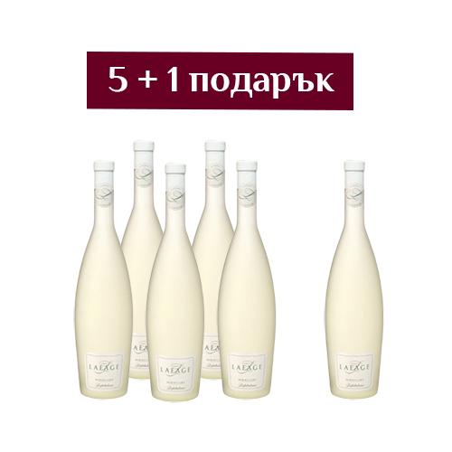 Бяло вино Miraflors Lafabuleuse Lafage - 6 броя