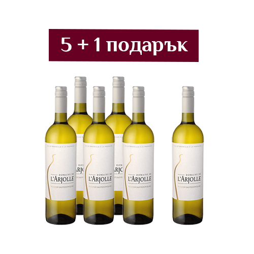 Бяло вино Vignier-Sauvignon Equilibre – 6 броя